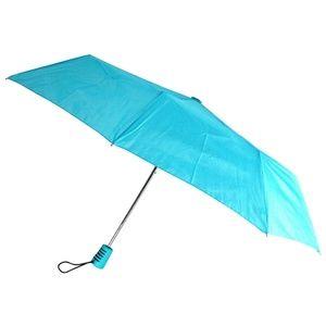 Totes Automatic Blue Teal Umbrella 42″ Large Auto